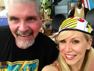 Tom Kane, the voice of Yoda, came the last weekend!
