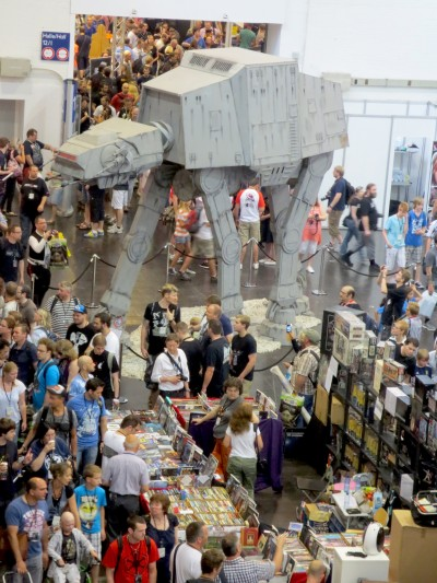 Imperial walkers spotted.
