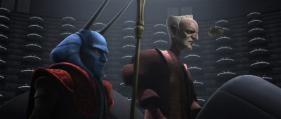 Mas Amedda, allied with Chancellor Palpatine.