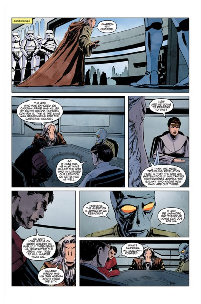 Star Wars Legacy #6, Page 3