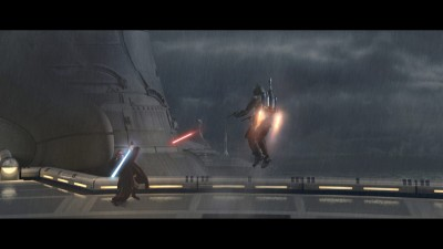 Obi-Wan Kenobi Vs. Jango Fett, Attack of the Clones