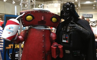 Bad Robot and Darth Vader