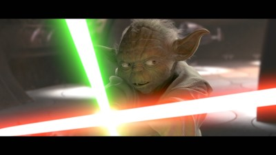 Yoda Vs. Count Dooku, Attack of the Clones