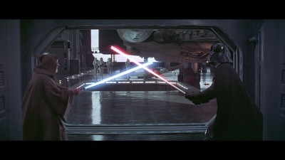 Obi-Wan Kenobi Vs. Darth Vader, A New Hope