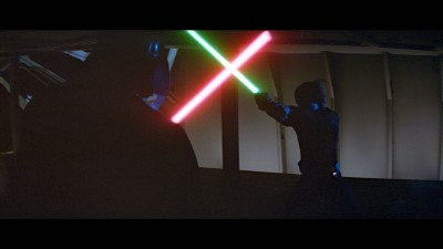 Luke Skywalker Vs. Darth Vader, Return of the Jedi