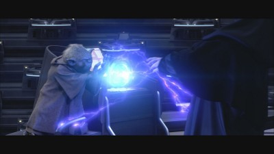 Yoda Vs. Darth Sidious, Revenge of the Sith