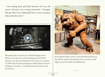 The Making of Return of the Jedi eBook interior page