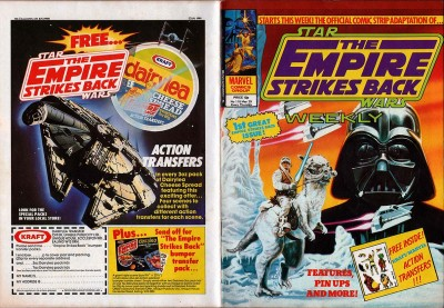 The Empire Strikes Back Weekly with action transfers offer