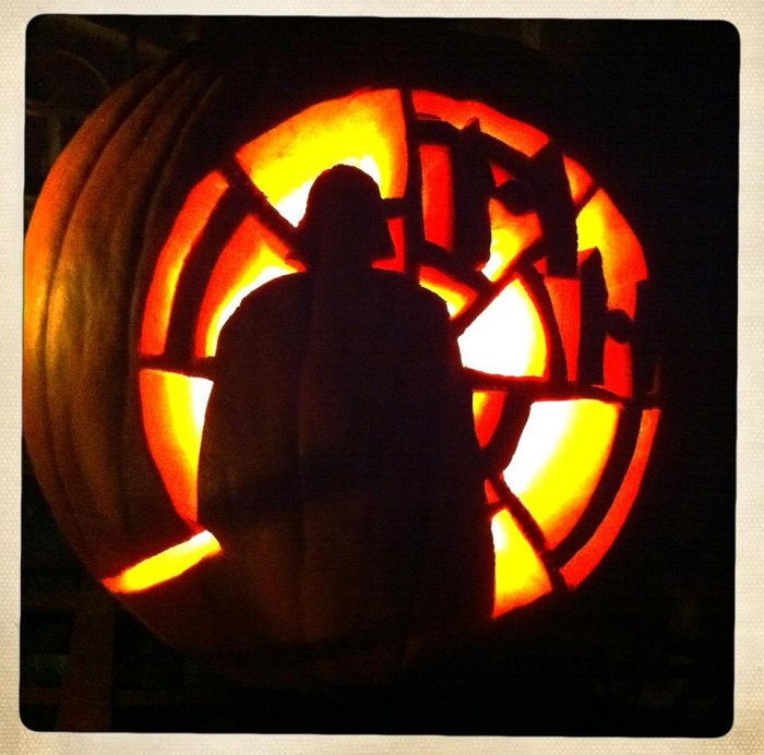 Pumpkin Carving Ideas Star Wars: Fully Operational Fandom: You Don't Need A Lightsaber To