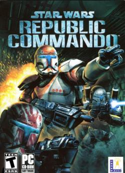 Star Wars: Republic Commando game cover.