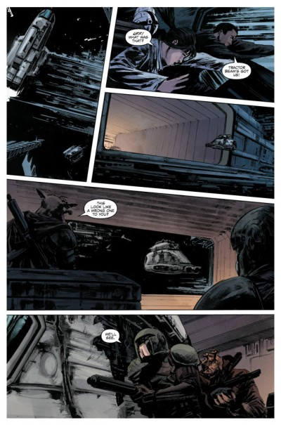 Star Wars Legacy #8, page 1