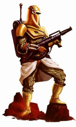 The Sun Guard from Star Wars: Galaxy in War.