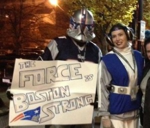 Patriots Trooper and Patriots Leia