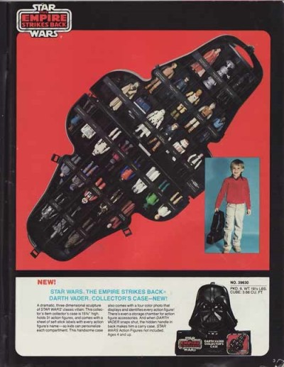 Darth Vader Collector's Case packaging, The Empire Strikes Back edition