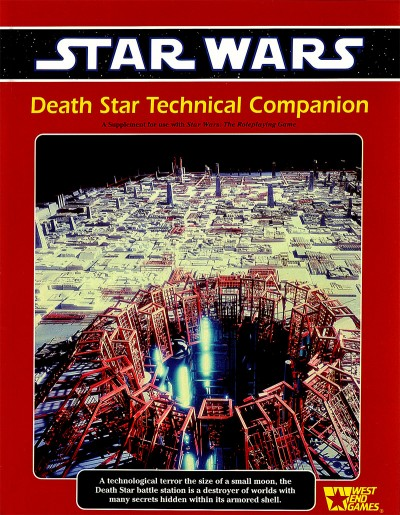 West End Games roleplaying game books introduced a great deal of information about the Death Star to the Expanded Universe.