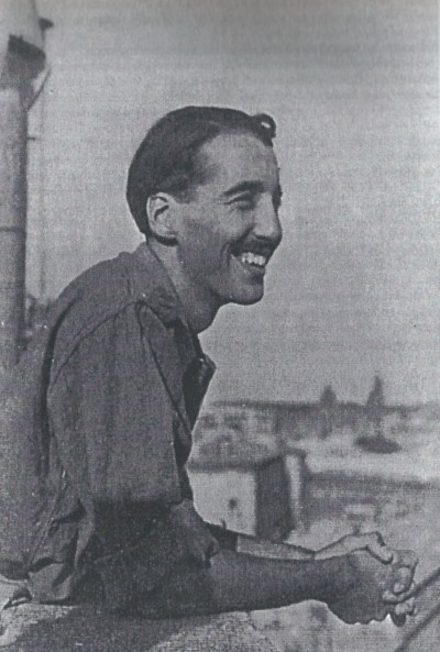 Christopher Lee during World War II