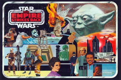 Vintage The Empire Strikes Back Action Figure Case Art Magnet