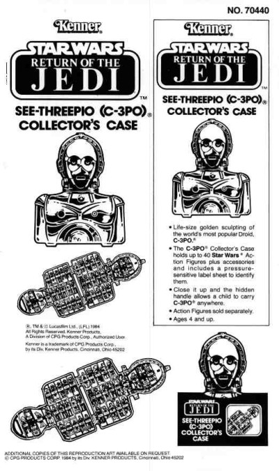 See-Threepio Collector's Case instruction booklet