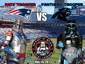 Patriots Trooper versus Panthers Trooper