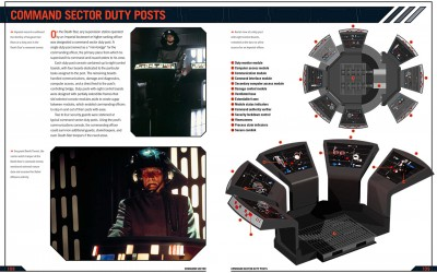 Chris Reiff and Chris Trevas created the art and provided detailed annotations for the Death Star's Command Sector Duty Posts.