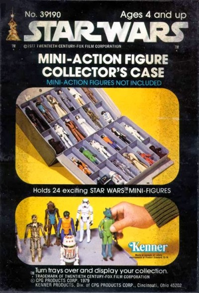 Star Wars Mini-Action Figure Collector's Case