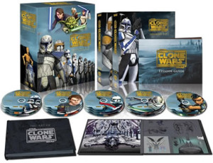 Star Wars: The Clone Wars Blu-ray complete set
