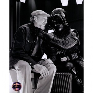 Irvin Kershner and Darth Vader