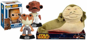 Funko Star Wars vinyl figures and Jabba the Hutt from Gear4Games