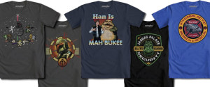WeLoveFine Star Wars shirts