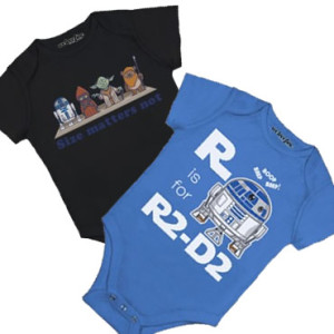 WeLoveFine Star Wars infant clothes
