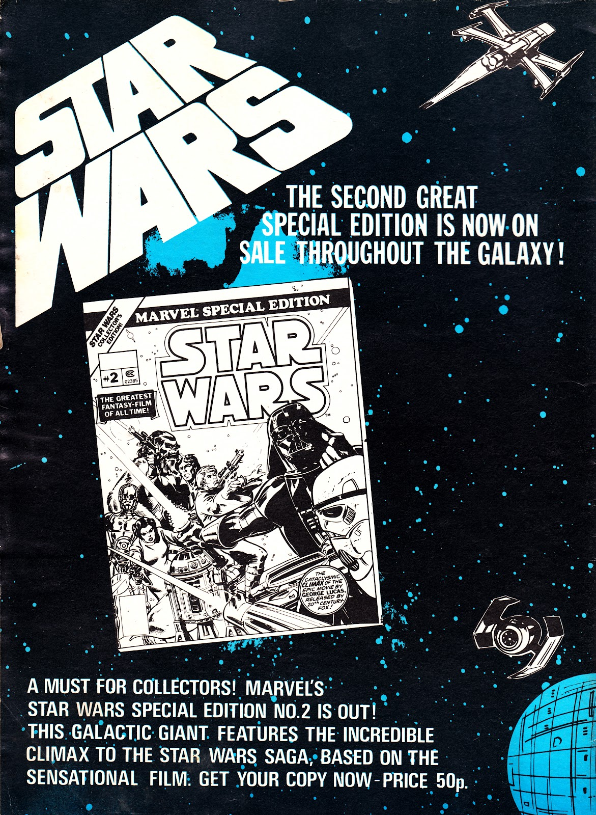an ad for marvels star wars 2 - Starwars Christmas