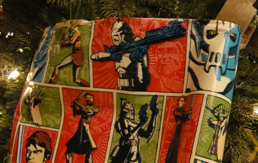Star Wars Christmas paper