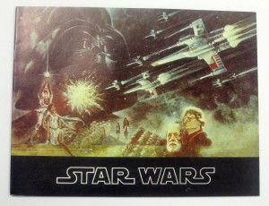 Star Wars UK cinema brochure
