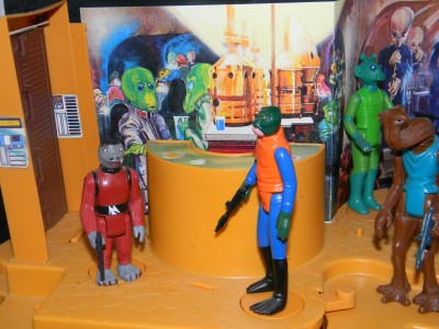 Kenner's Cantina Adventure Set