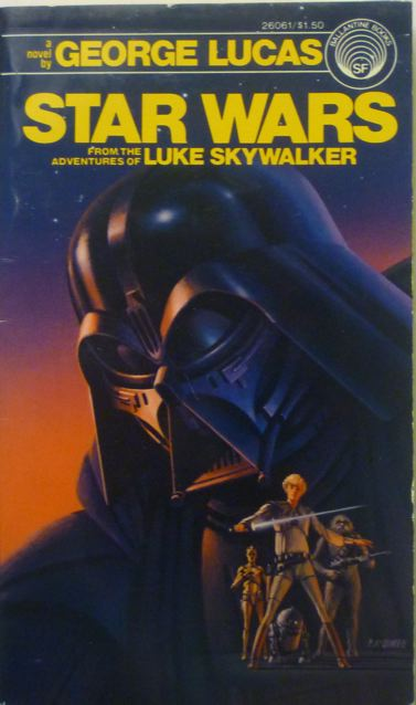 Star Wars novelization cover