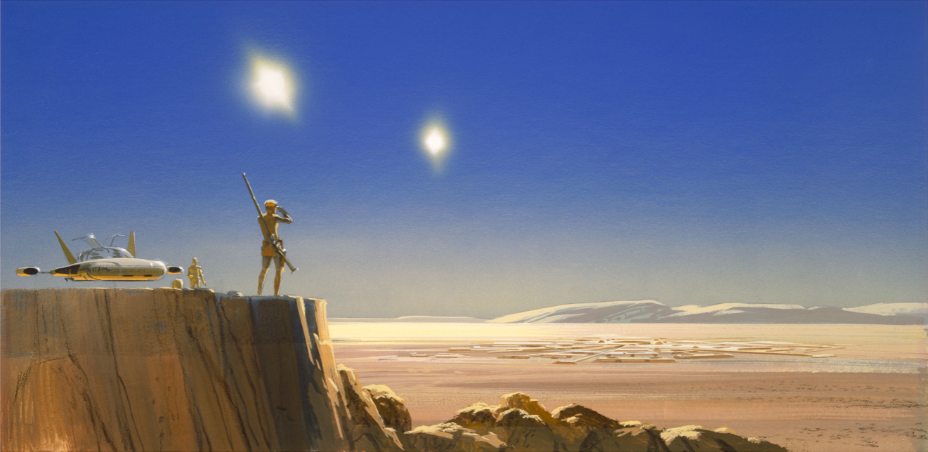 An Annotated Guide to The Star Wars Portfolio by Ralph McQuarrie | StarWars.com