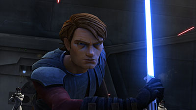 Anakin Skywalker in Star Wars: The Clone Wars