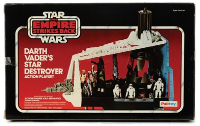 Darth Vader's Star Destroyer Action Playset box