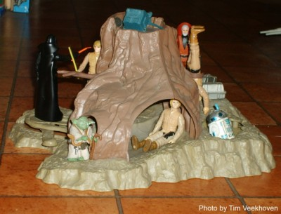 Kenner's Dagobah Action Playset