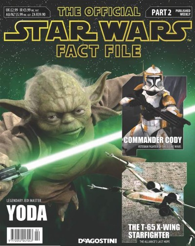 The new Official Star Wars Fact File #2