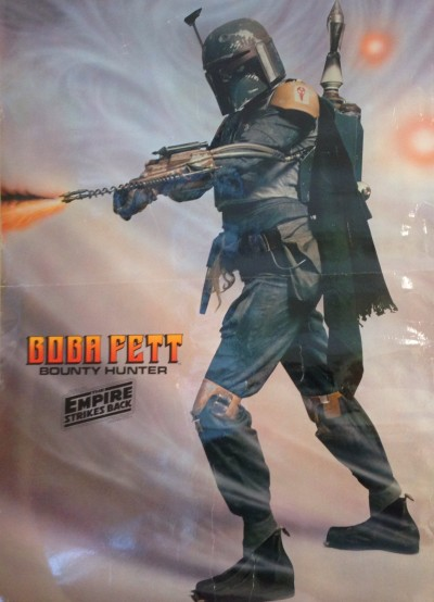The Empire Strikes Back vintage poster with Boba Fett