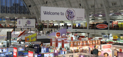 Toy Fair show floor