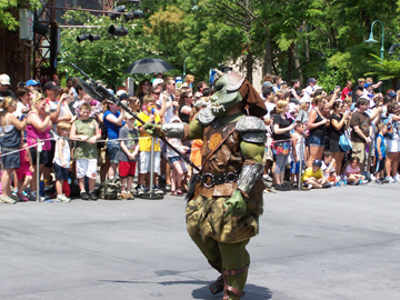 "Jerry Treiber marching as ""Grunt"" at Star Wars Weekends 2010"