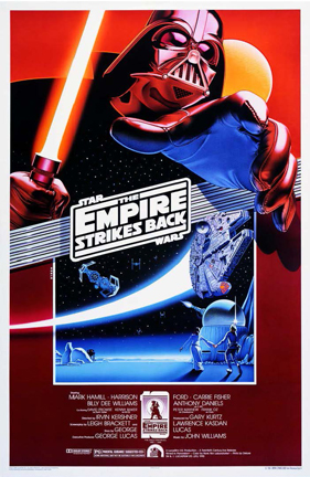 Noble's poster for The Empire Strikes Back's 10th anniversary