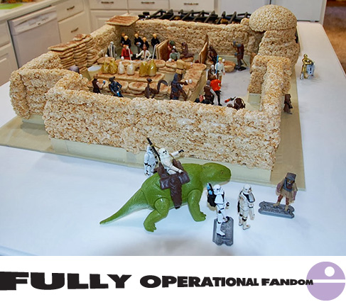 Rice Krispie Mos Eisley Cantina by TK Peggy