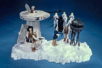 Turret and Probot Star Wars playset