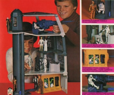 Kenner's Death Star playset