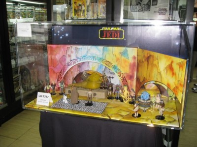 Italian Jabba the Hutt Kenner display