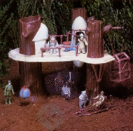 Kenner's Ewok Village Action Playset