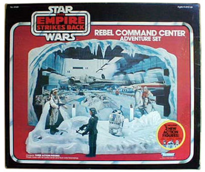 Kenner's Rebel Command Center Action Set